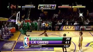 NBA Jam X360 - Backboard Shatters