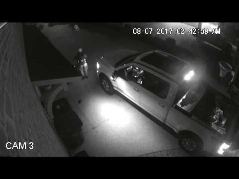 Wilmington Police Department – Video of car break-in