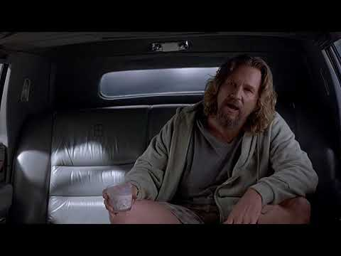 """The Big Lebowski 20th Anniversary (1998) - """"There's A Beverage Here!"""" Clip"""