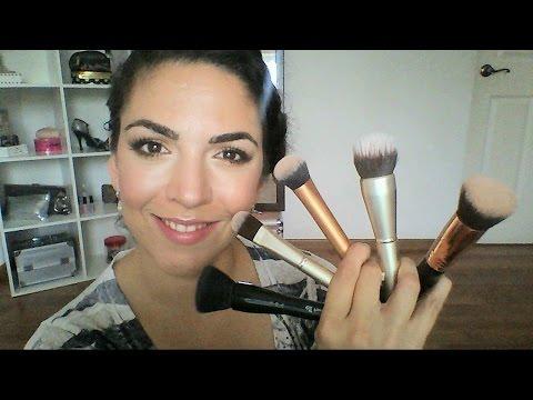 Brochas Para Base De Maquillaje (Sigma, Elf, Real Techniques, Costco) Andrea Flores Tv