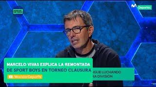 Después de Todo: Sport Boys sigue luchando contra el descenso | ENTREVISTA Marcelo Vivas DT
