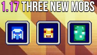 Minecraft 1.17 : Vote For One Of Three New Mobs!