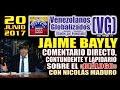 JAIME BAYLY - Comentario DIRECTO, CONTUNDENTE y LAPIDARIO sobre el
