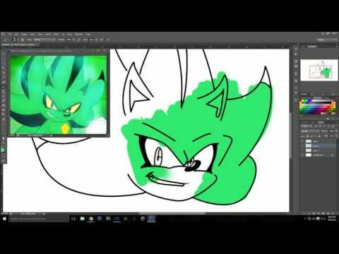 Chakra X: draw Chaos Nazo tutorial