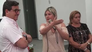 Lindalva agradece ao deputado Danilo Forte liberação de verbas para o campo society e sede do CRAS