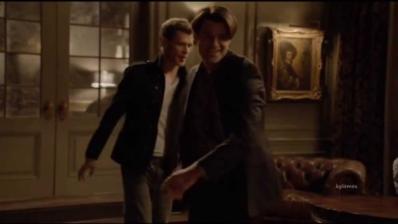 Joseph Morgan Amp Daniel Gillies Blooper From Tvd Youtube