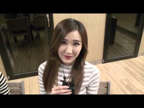 (CUT) EXID members imitating LE's voice @ KoonTV 141126