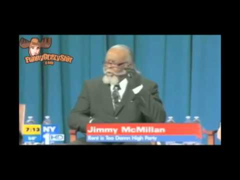 Rent is Too Damn High Party Jimmy McMillan