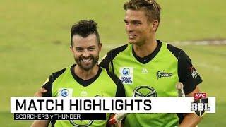 Ferguson ton guides Thunder home | KFC BBL|08