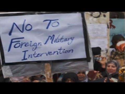 Supporting Libyan Revolution, Opposing Foreign Intervention