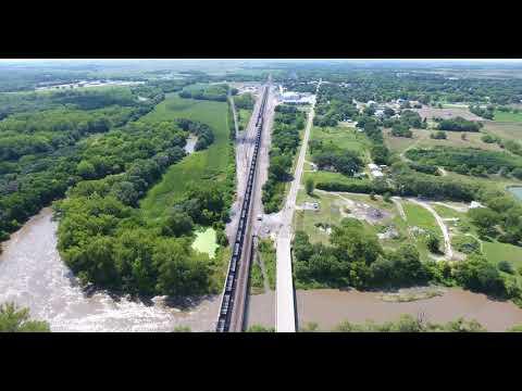 Nebraska solar eclipse scouting the area for tomorrow's film(3)