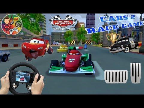 Lightning Mcqueen Ultimate Power Wheels Cars Game / Courses De Voitures Pour Enfants / Autorennen