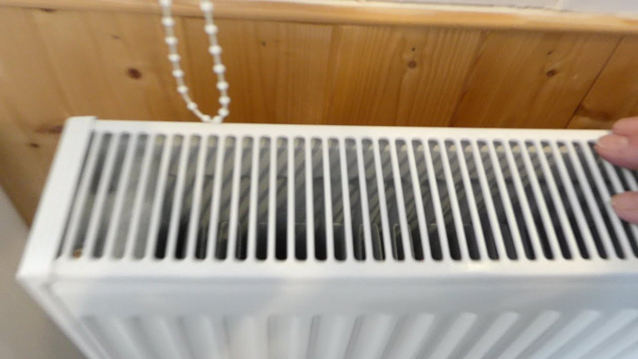 How To Remove Central Heating Radiator Covers To Clean
