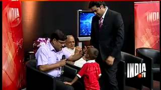 Haryana's child prodigy Kautilya appears on India TV,replies to tough GK questions with ease-6