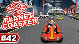 Kartbahn in der Boxengasse | Planet Coaster Let's Play #42