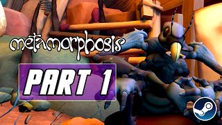 Metamorphosis - Gameplay Walkthrough PART 1 - No Commentary (PC)