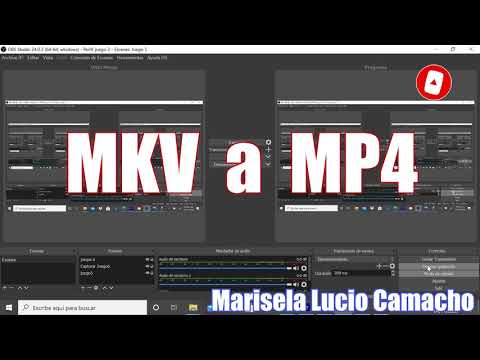 Convertir archivo MKV a MP4 Super Fácil con OBS STUDIO