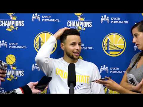 Stephen Curry On Cavaliers New Roster & Trades