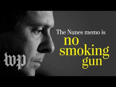 Opinion | The Nunes memo is no smoking gun