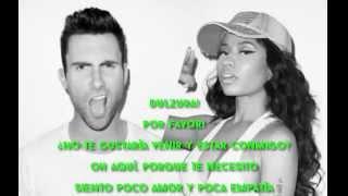 Maroon 5 - Sugar Ft. Nicki Minaj [SUBTITULADO EN ESPAÑOL]