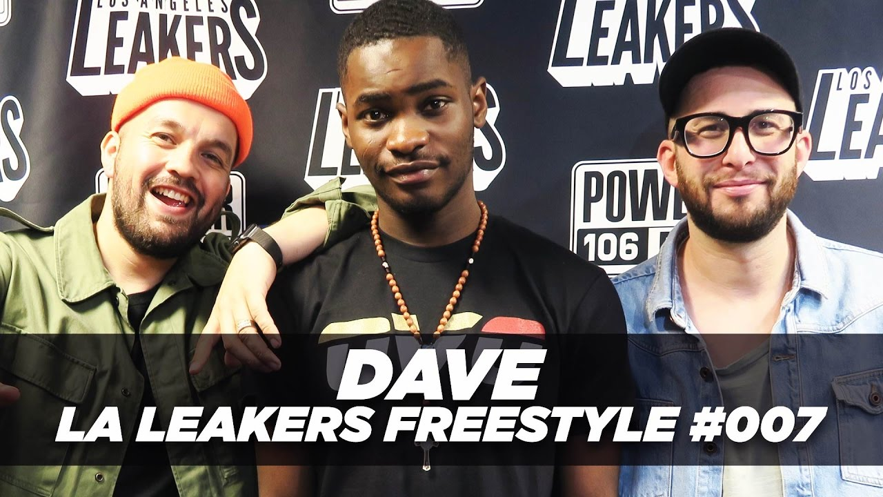 Dave From The UK Freestyles With The LA Leakers