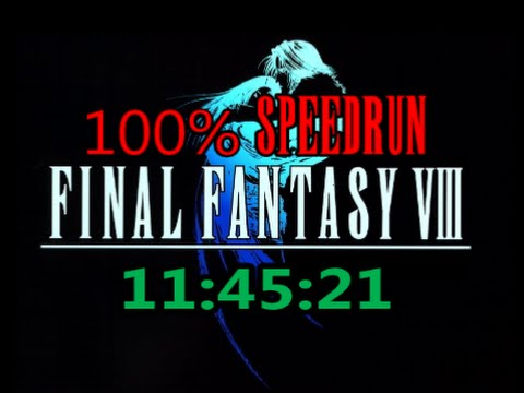 Final Fantasy VIII : 100% Speedrun in 11:45:21