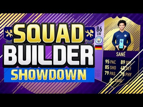 FIFA 18 Squad Builder Showdown!! - POTM LEROY SANÉ - FIFA 18 Ultimate Team