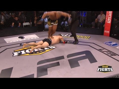 Drew Chatman gets DQ'd after flipping off KO'd opponent's back