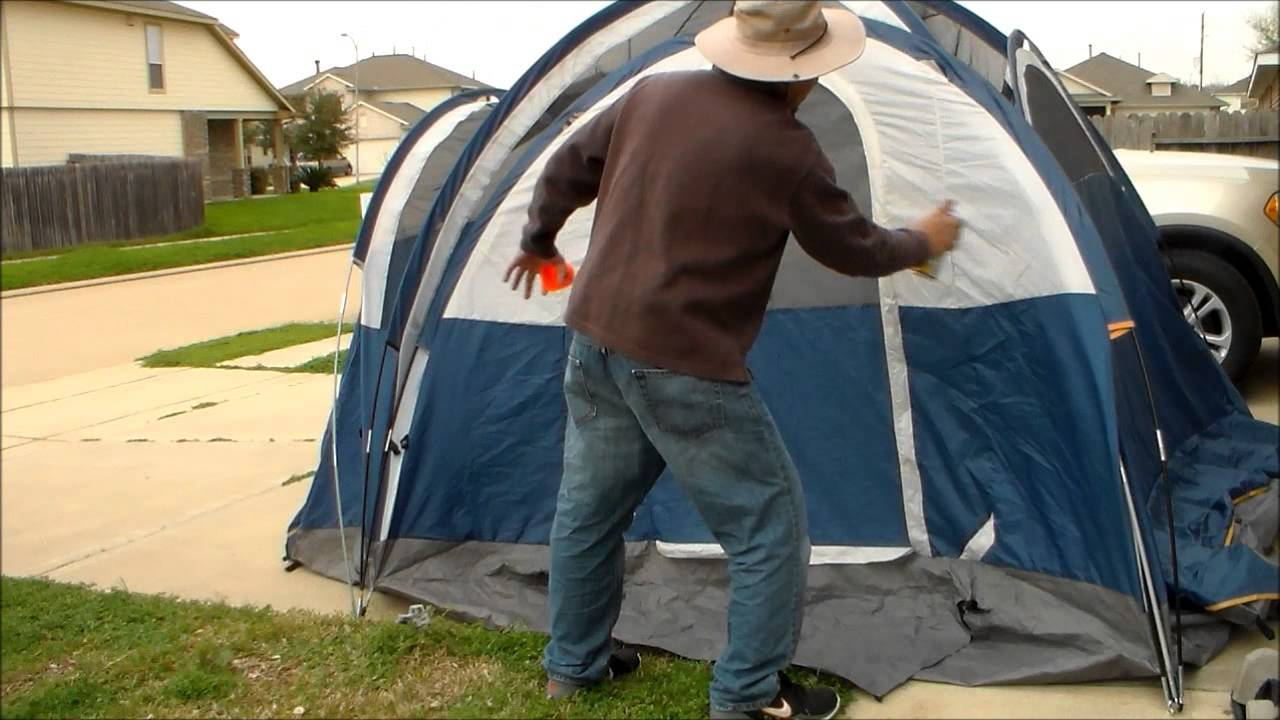 & HOW TO WATERPROOF YOUR TENT - YouTube