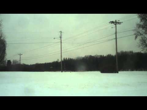 Unedited footage of Winter Storm Pax - 2-12-14