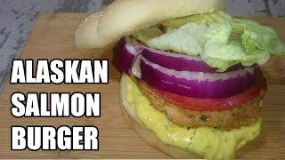 Alaskan Salmon Burger