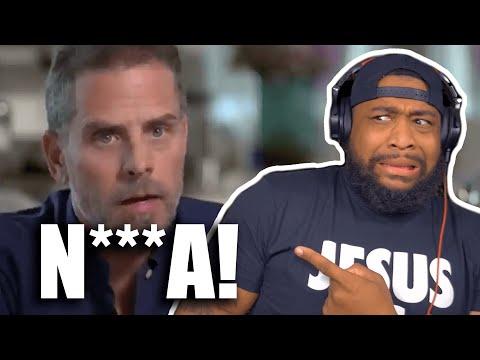 """HUNTER BIDEN USES THE N WORD LIKE HE A """"HOOD N***A""""!"""