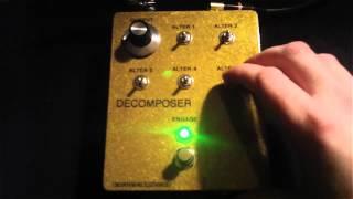 Mountainking Electronics Decomposer - BASS Demo