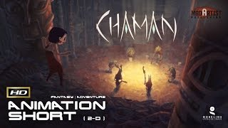 "2D Animated Short Film ""CHAMAN"" Fantastic Adventure Animation by GOBELINS"