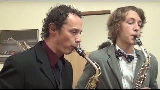 Урок игры на саксофоне в музыкальной школе Лыткарино