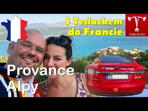 #108 Tesla Trip Alpská Provance (Francie Den 4. - 7.) | Teslacek