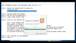 Gambar cover HOW TO DOWNLOAD XAMPP IN WINDOWS 10