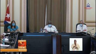 Cuba: aprueba Consejo de Estado cuatro Decretos Leyes