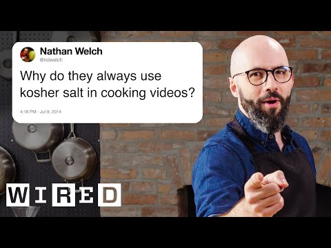 Babish Answers Cooking Questions From Twitter | Tech Support | WIRED
