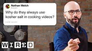 Babish Answers Cooking Questions From Twitter   Tech Support   WIRED