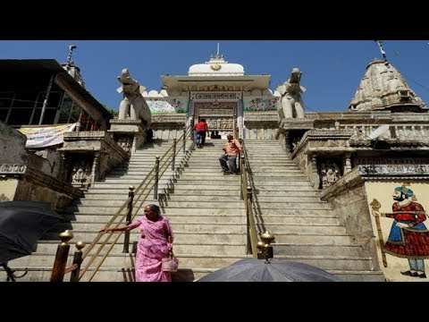 Jagdish Temple , The most beautiful  ornate carved Temple