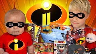 INCREDIBLES 2 Giant Toy Surprise with Funko Pop Incredibles a Incredibles 2 Parody by EpicToyChannel