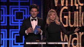 Adam Scott & Amy Poehler get real about