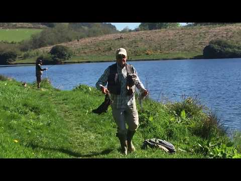 Fly Fishing At Kennick Reservoir