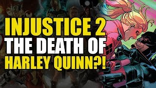 The Death Of Harley Quinn?! (Injustice 2 Vol 3)