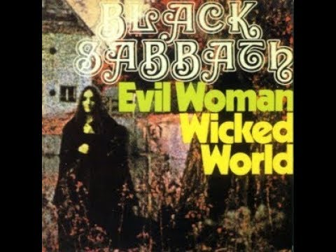 Black Sabbath - Evil Woman/Wicked World (1969 Single Fontana) [Flac High Quality]