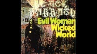 Black Sabbath - Evil Woman/Wicked World (1969 Single Fontana) [Flac High Quality]