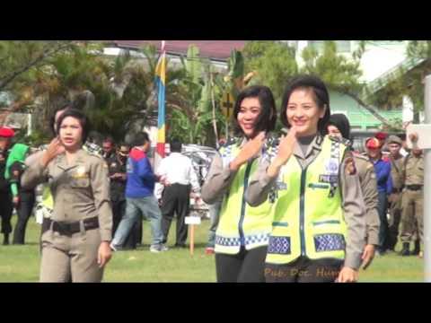 Revolusi Mental Polisi Wanita dan Satuan Pol PP Hut Pol PP Ke 66