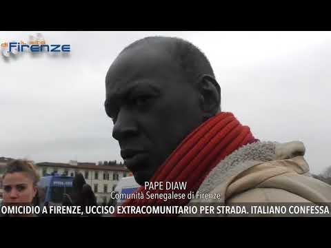 A Senegalese street vendo shot Dead by an Italian citizen