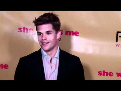 Max Carver attends 'She Wants Me' LA Film premiere at Laemmle Music Hall 3